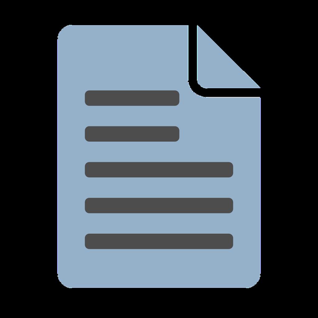 document, icon, computer